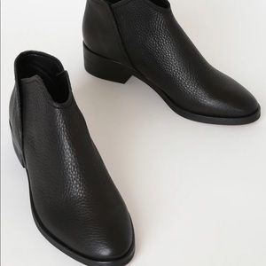 Trist Black Leather Ankle Booties Dolce Vita 6
